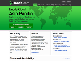 Linode screenshot or logo