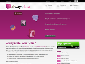 alwaysdata screenshot or logo