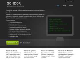 Gondor screenshot or logo