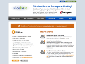 Slicehost screenshot or logo
